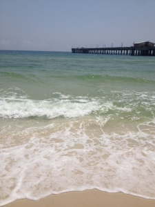 Gulf of Mexico and Gulf State Park fishing pier