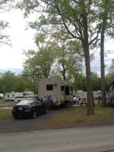 Our site from the back.