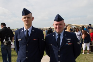 David (left) and Kyle (right)