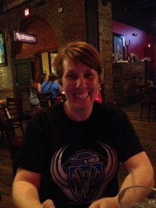 Anne at BB King's