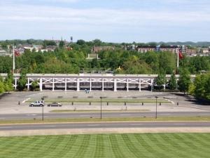 Bicentennial Park from above