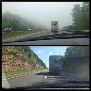 Foggy and no foggy