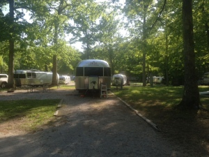 Some of the Airstreams