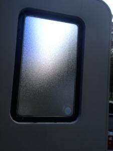 Inside frame removed