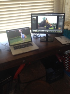 The new monitor