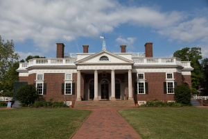 Monticello main house from the front