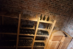 The wine cellar (photography allowed here).
