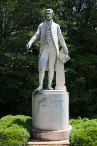 Statue of James Monroe