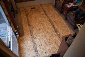 Floor ready for flooring.