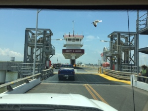 Heading to the ferry