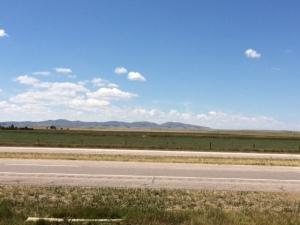 Scenery in Wyoming