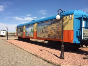 Centennial Train Car