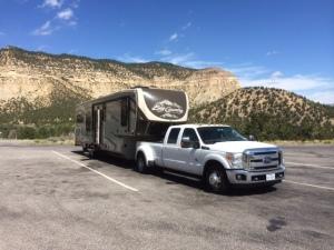Scenic pull-off, Utah