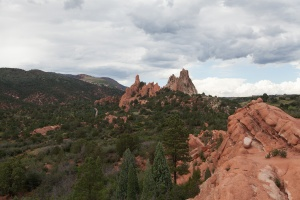 Scenery in Garden of the Gods