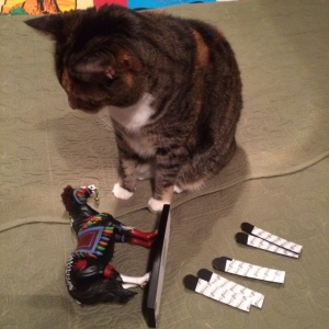 Supervisor Cat says good job