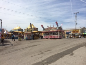 Typical fair attractions