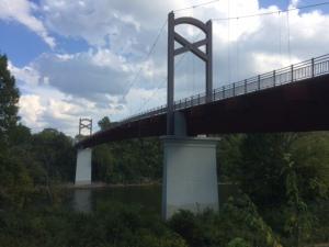 The bridge from below