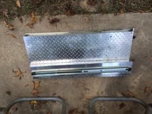 Slide-out platform removed