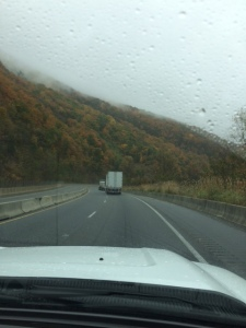 Wet ride through the Smokies