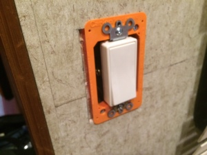 Switch mounted