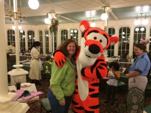 Picture with Tigger