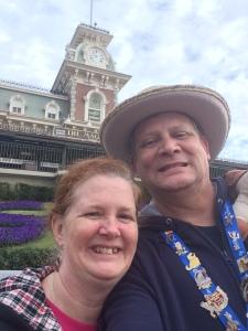 Selfie at Magic Kingdom
