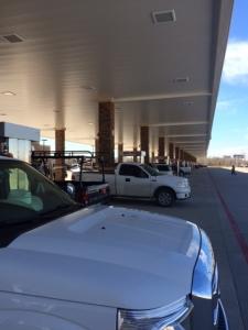Miles of fuel pumps