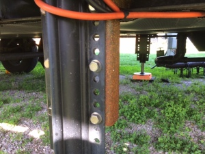 Rusty bracket