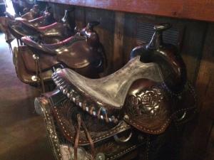 """""""Bar Stools"""" at Tortilla Flats Saloon"""