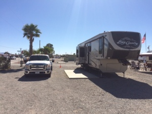 Our site in Quartzsite