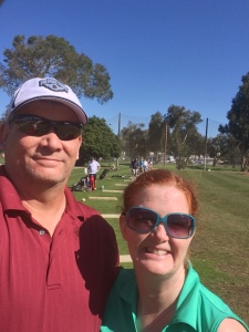 Golf selfie