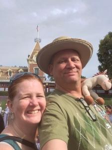 Disneyland Selfie
