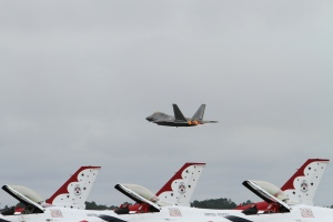 F-22 Full Afterburner