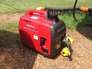 Generator in action
