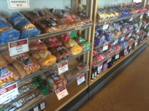 Great selection of breads