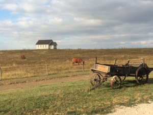 Bucolic scene from 1880 Town