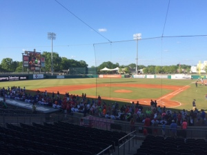 Montgomery Biscuits game